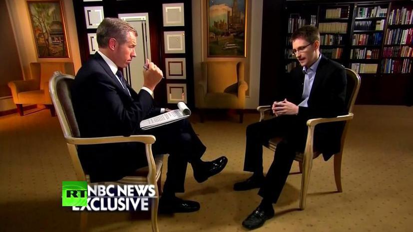 Телеканал NBC News вырезал из эфира рассказ Эдварда Сноудена о терактах 11 сентября