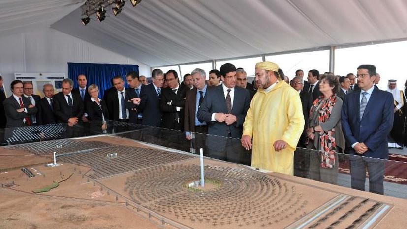 В Марокко приступили к строительству мощнейшей солнечной электростанции