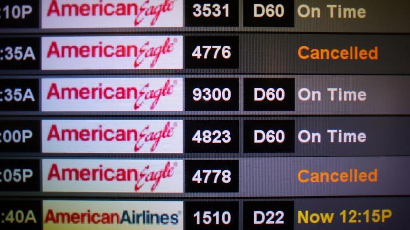 Ураган «Сэнди» готовит неприятный сюрприз туристам: часть авиарейсов в США будет отменена