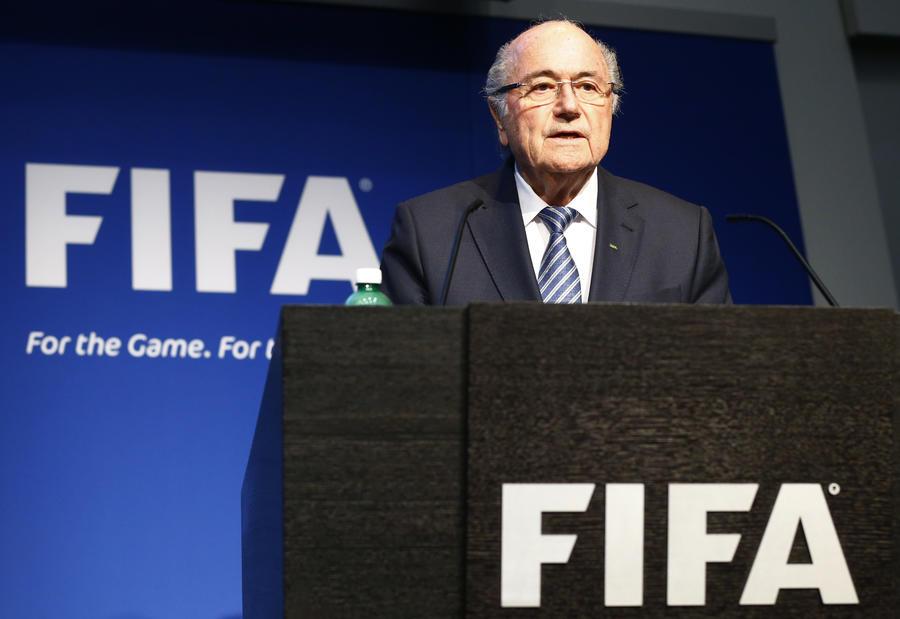 Через четыре дня после переизбрания президент ФИФА Йозеф Блаттер заявил о своей отставке