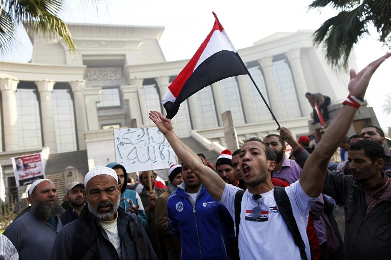 Деятельность Конституционного суда Египта приостановлена под давлением исламистов