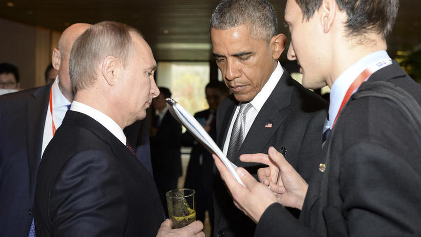 Американский журналист Стивен Лендман: В отличие от Барака Обамы, Владимир Путин — человек дела