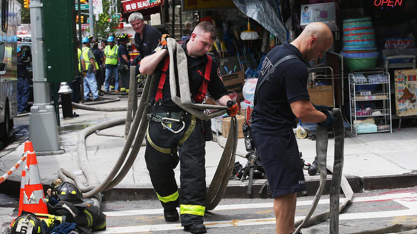 Американец поджег библиотеку, чтобы принять участие в тушении пожара