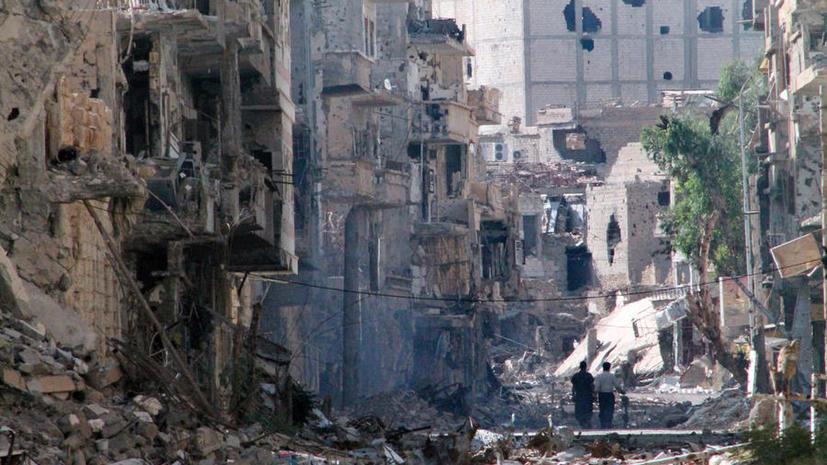 Сирийские войска отбили у боевиков важный город на границе с Ливаном