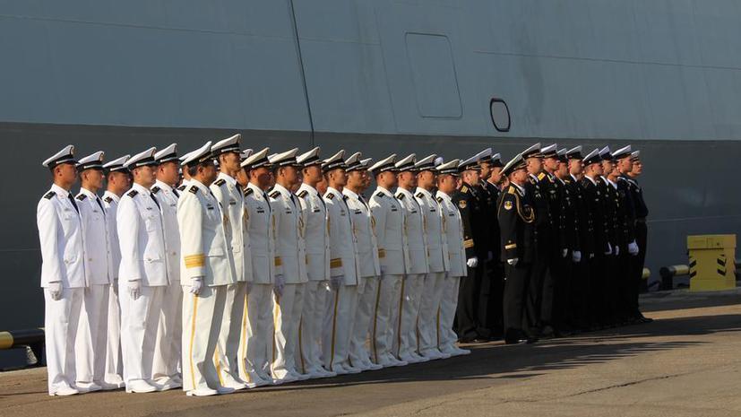 Корабли России и Китая начинают совместные учения в Средиземном море