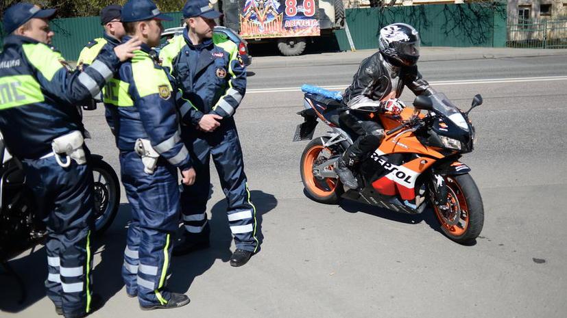 Для мотоциклистов могут усложнить экзамен на получение прав