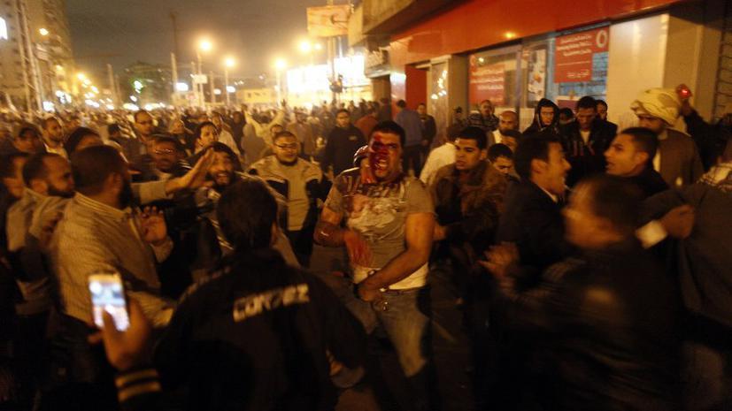МВД Египта: В Каире идет гражданская война