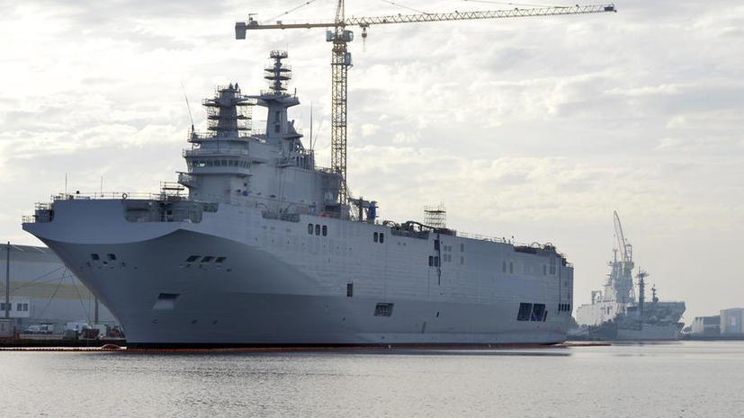 Эксперт: Франция ведёт двойную игру — и с США не поссориться, и передать России «Мистрали»