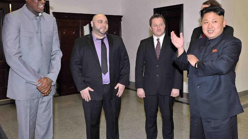 О приключениях Денниса Родмана в КНДР снимут комедию
