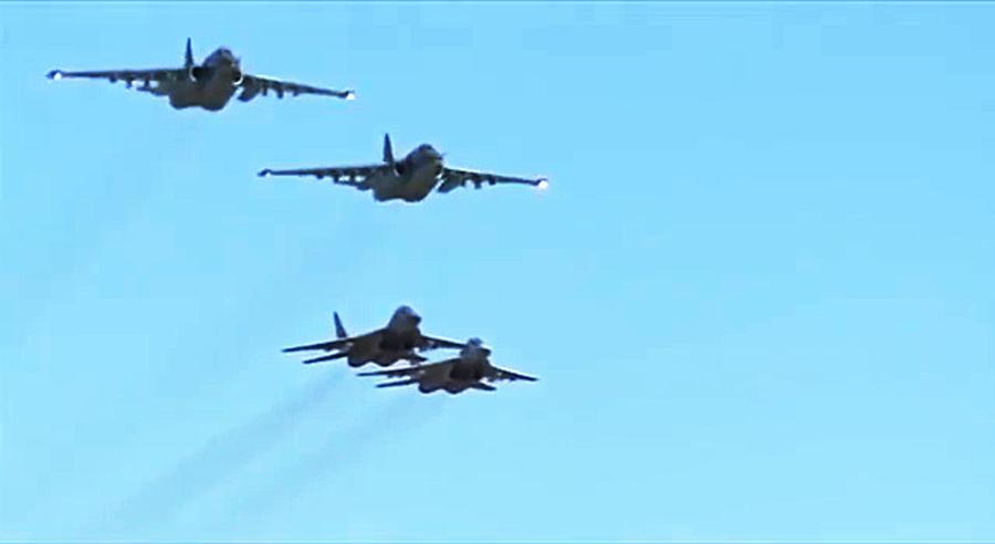 Российские и сирийские лётчики впервые выполнили совместную боевую задачу в небе над Сирией