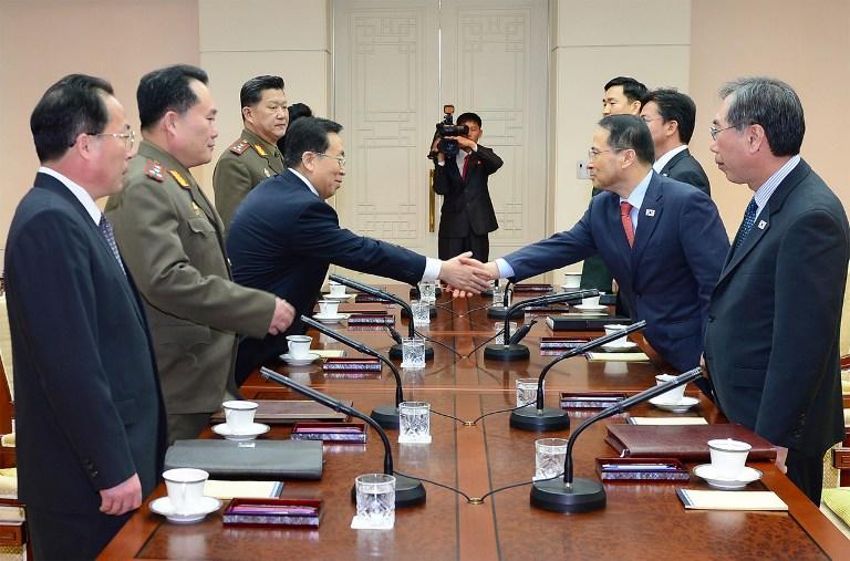 Второй раунд официальных переговоров между Южной Кореей и КНДР состоялся