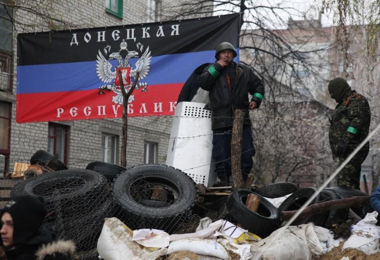В Славянске сторонники федерализации Украины заявили о взятии власти в городе