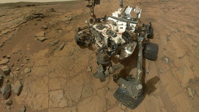 Марсоход Curiosity перестал «отзываться» на команды NASA