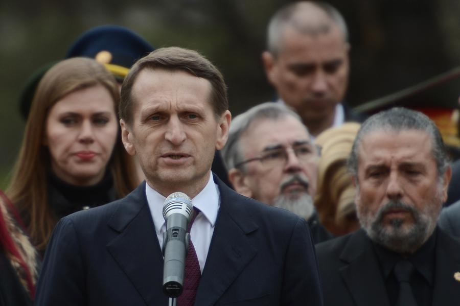 Сергей Нарышкин: Запад поощряет украинских националистов, поскольку видит в них антироссийскую силу