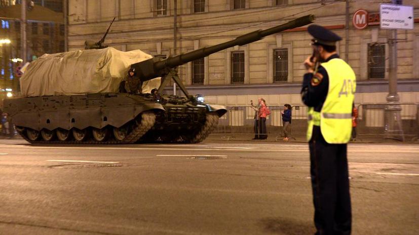 Репетиция парада Победы на Красной площади повлияет на работу столичного транспорта