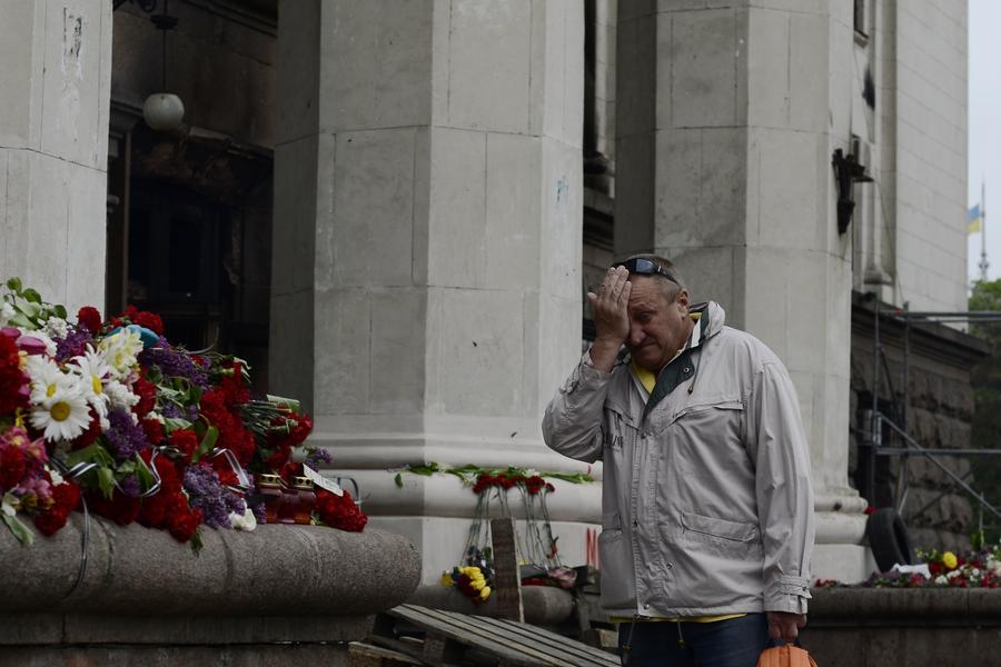 В Конгрессе еврейских религиозных общин сравнили трагедию в Одессе с Холокостом