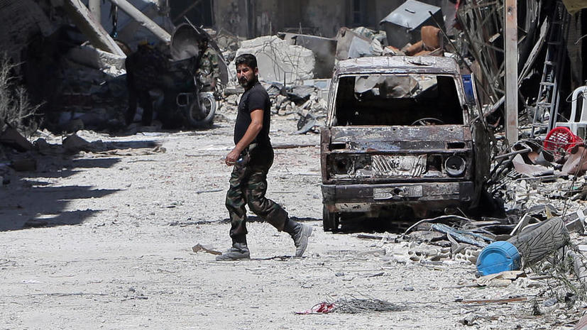 Сирийская оппозиция и ООН вместе расследуют случаи применения химического оружия
