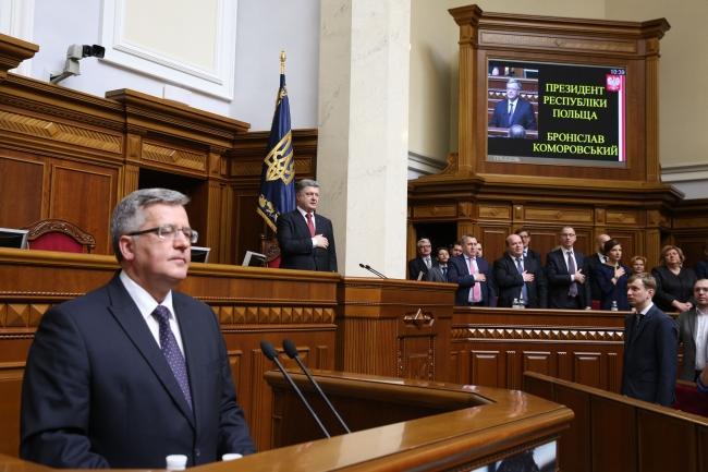 Президент Польши исключил возможность исторического диалога с Украиной из-за закона о героизации УПА