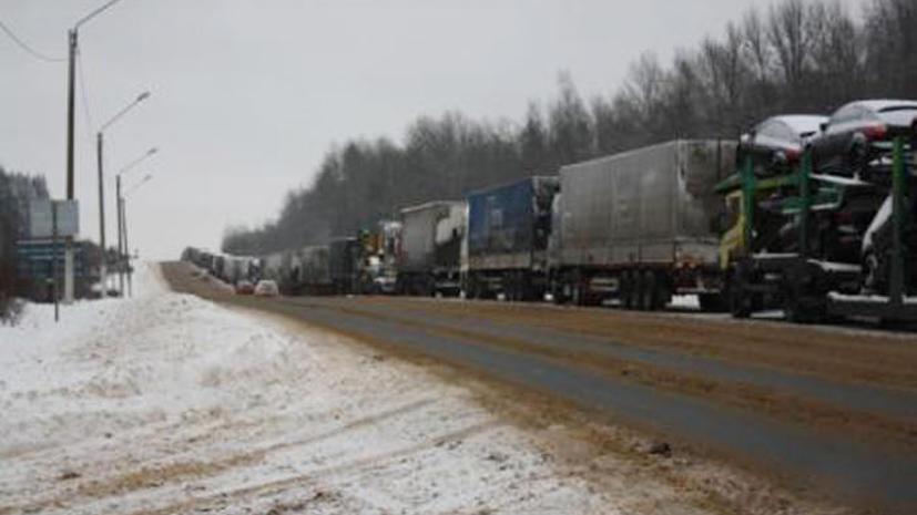 В ФТС не подтверждают слухи об усилении таможенного контроля на границе с Украиной
