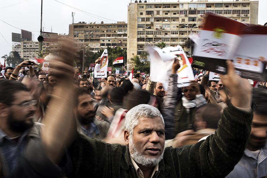 В Египте начались столкновения между противниками и сторонниками президента Мурси