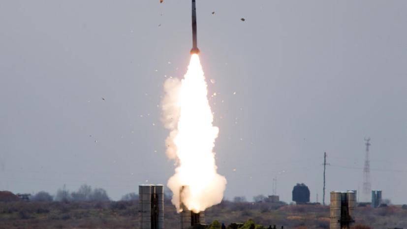 Российские войска воздушно-космической обороны провели пуск противоракеты системы ПРО