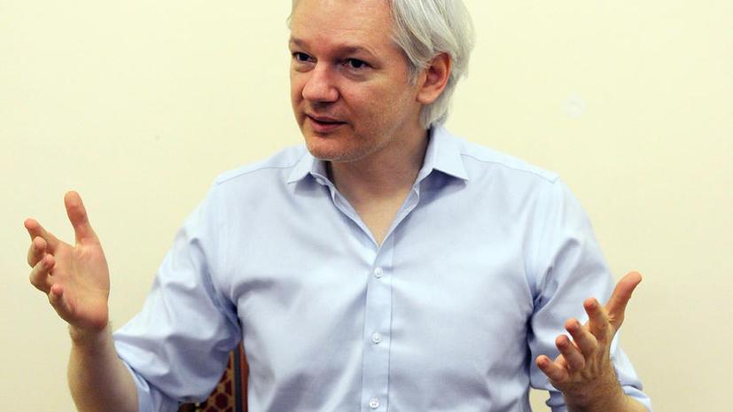 Джулиан Ассанж: Отзыв паспорта Сноудена — самый идиотский поступок Госдепа
