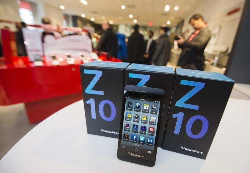 Blackberry надеется поправить свое положение за счет новинки Blackberry Z10