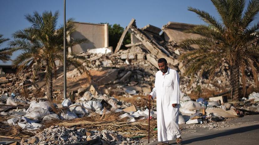 Резиденцию Каддафи превратят в парк развлечений