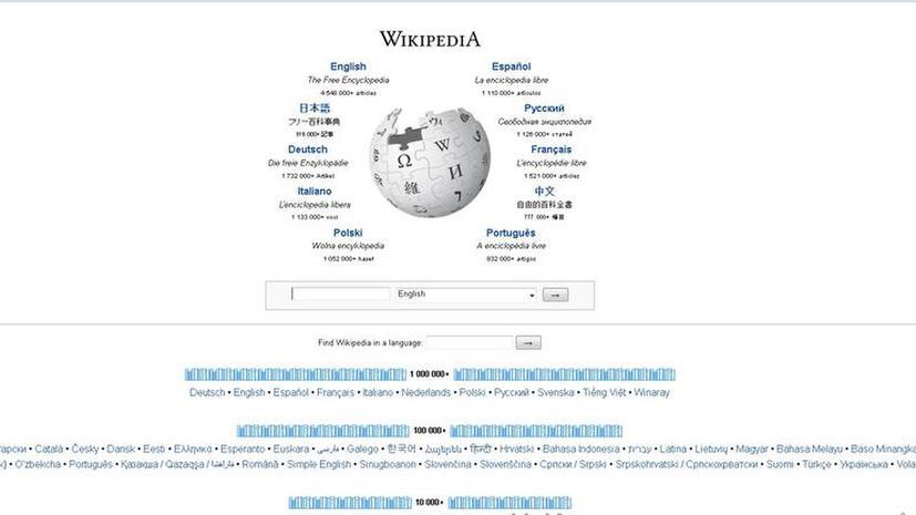 СМИ: Конгресс США отредактировал статьи Wikipedia о России