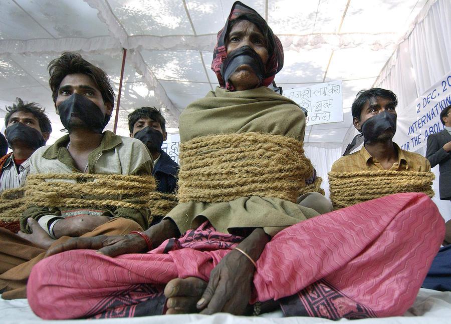 СМИ: в Индии до сих пор процветает работорговля