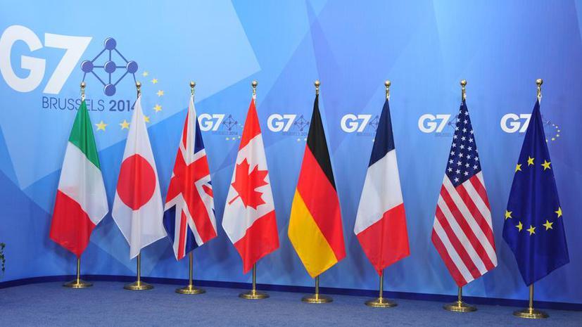 G7 считает «сдержанными» действия украинских силовиков на юго-востоке страны