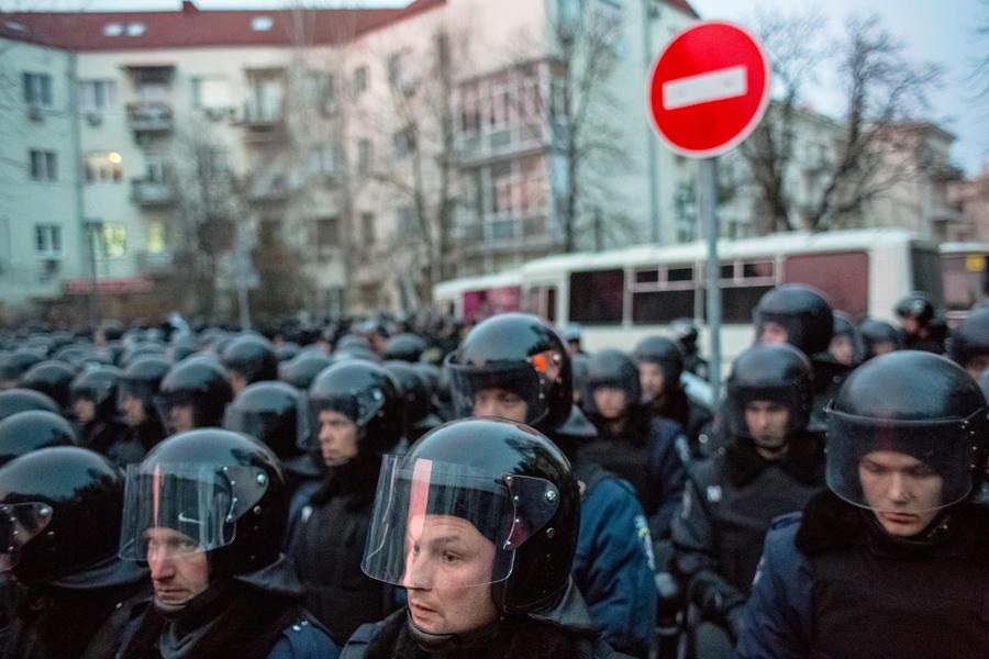 На Украине расформировано спецподразделение «Беркут»