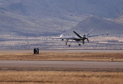 В небе над Багдадом «работают» несколько американских дронов с боевой нагрузкой