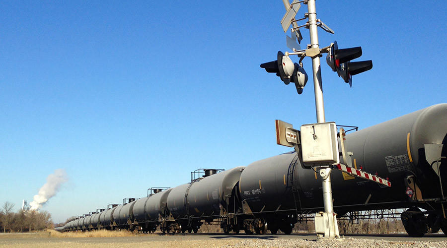 СМИ: Из-за очередного крушения нефтяного поезда в Висконсине объявлена эвакуация