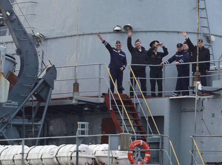 Отъезд российских моряков без «Мистраля» огорчил французов