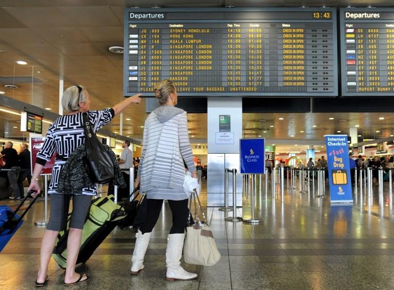 Лесные пожары остановили работу аэропорта Мельбурна