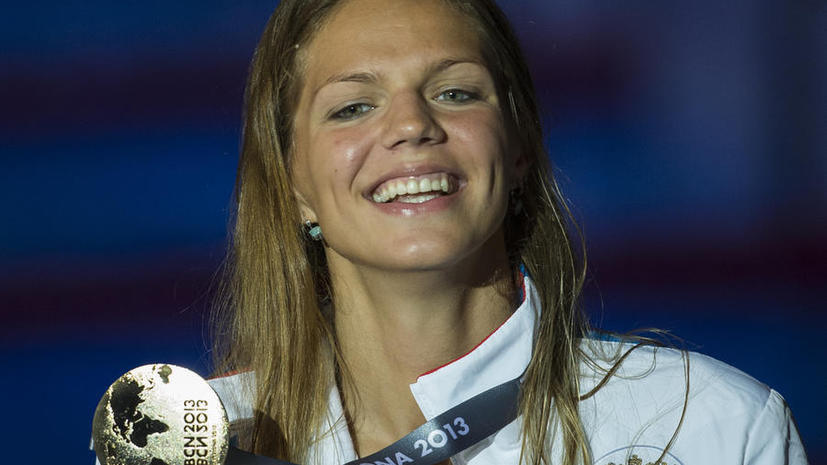 Россиянка побила мировой рекорд по плаванию