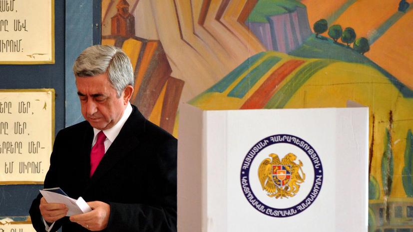 Серж Саргсян избран на второй срок