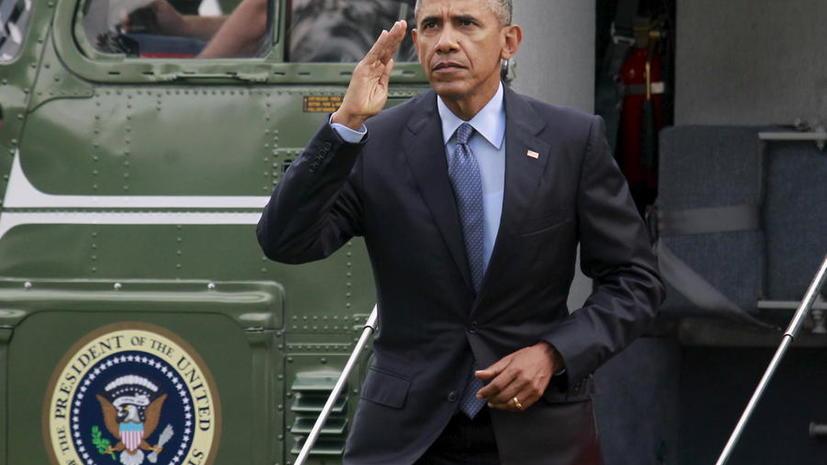 СМИ: Военное руководство США обманывало президента Барака Обаму
