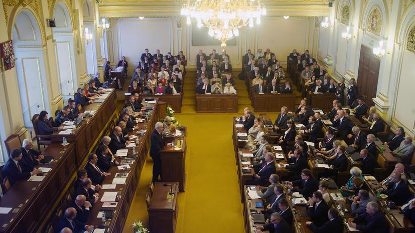 В парламенте Чехии проголосовали против применения экономических санкций к РФ