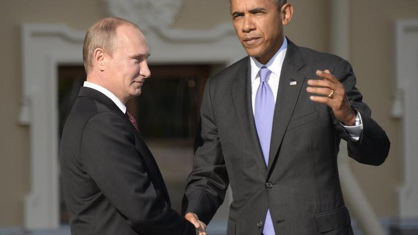 Барак Обама предложил Владимиру Путину провести прямые российско-украинские переговоры