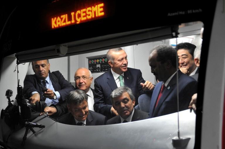 Спустя день после грандиозного открытия «турецкого Ла-Манша» в туннеле отключилось электричество
