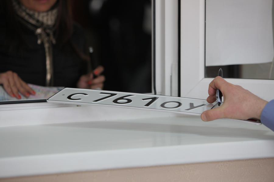 Московские автомобилисты получат номерные знаки с кодом региона 777
