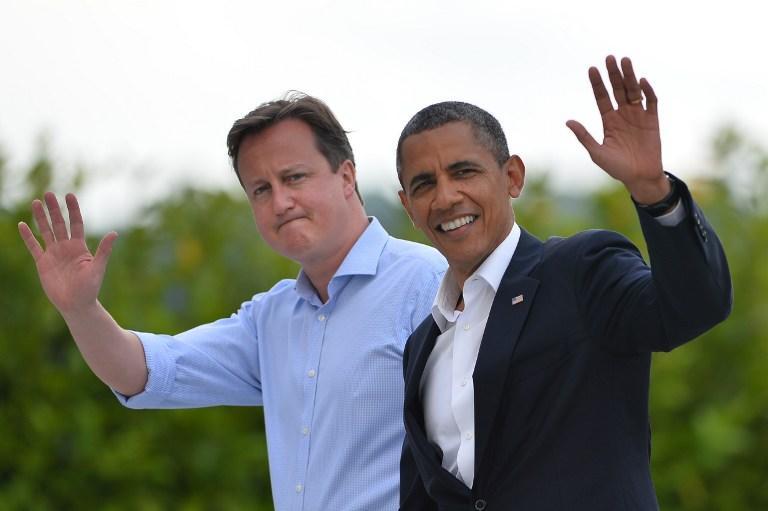Белый дом: Барак Обама и Дэвид Кэмерон поддерживают идею созыва «Женевы-2»