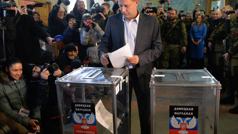 Эксит-полл: Александр Захарченко побеждает на выборах в ДНР
