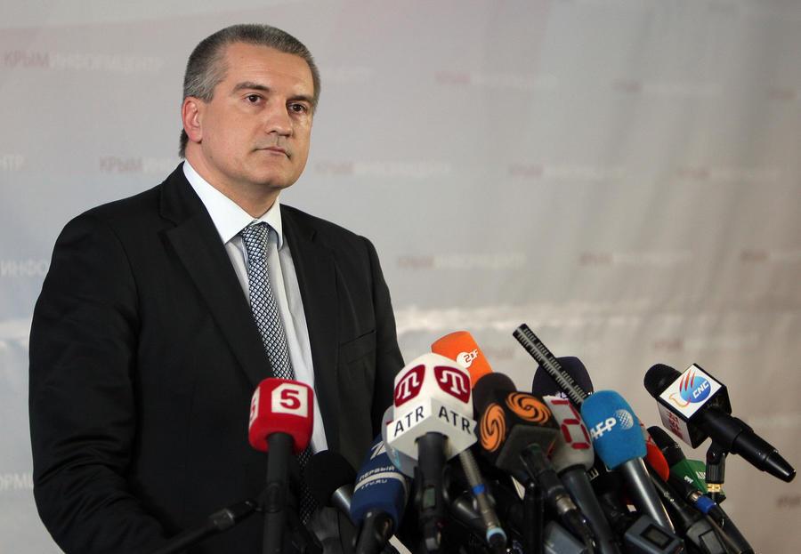 Членов правительства Украины не пустят на территорию Крыма