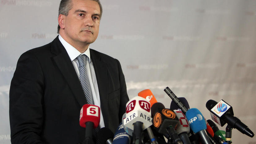 Премьер-министр Крыма: Президент России поставил задачу обеспечить безопасность в регионе