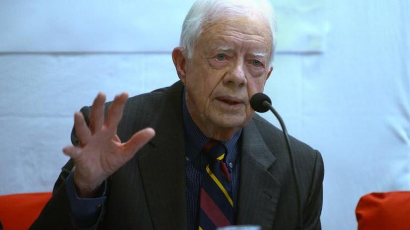 Экс-президент США Джимми Картер: Я рассмотрел бы помилование Эдварда Сноудена