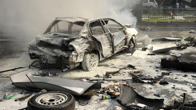 В Дамаске взорвали заминированный автомобиль, минимум трое погибших