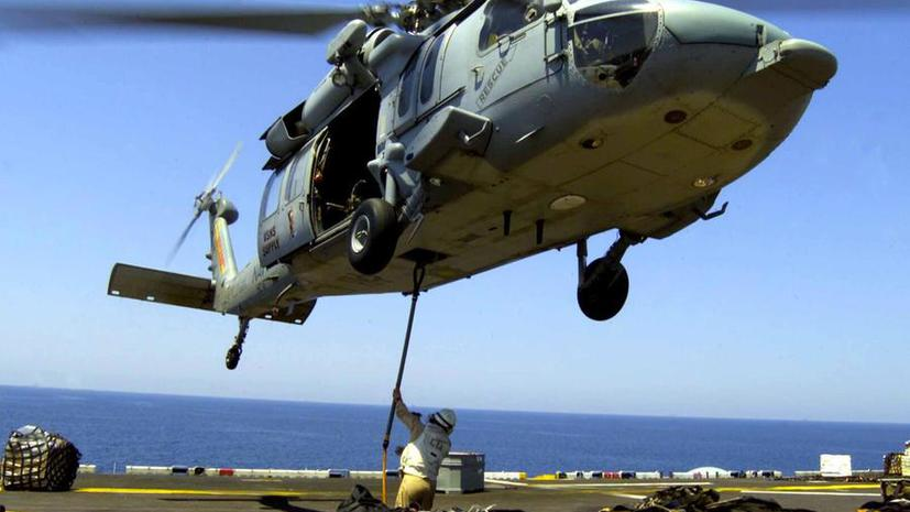 Вертолёт ВМС США потерпел крушение над Красным морем